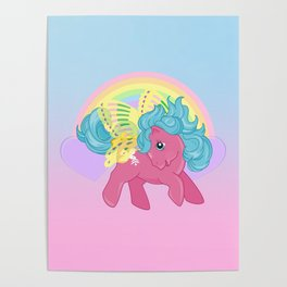 g1 my little pony summerwing sky dancer Poster