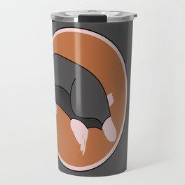 Cute mole Travel Mug