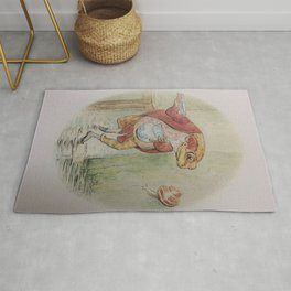 Jeremy Fisher by Beatrix Potter Rug