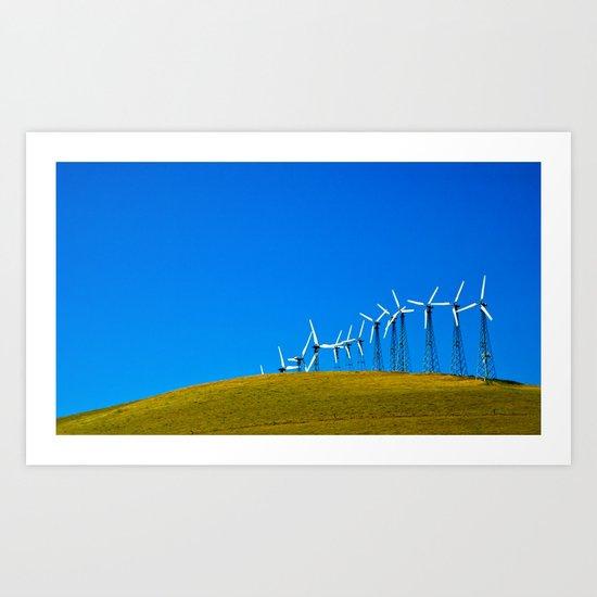 Greener Future Art Print