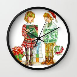 Pop Kids at Christmas Time vol.1 Wall Clock