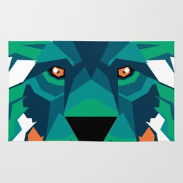 Aurora Lion Rug