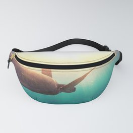 Sea Turtle - Underwater Nature Photography Fanny Pack