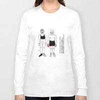 boxer Long Sleeve T-shirts featuring boxer by nena