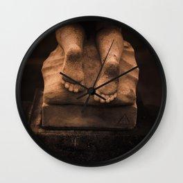 Cherub Feet Wall Clock