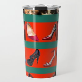 Kittens for May in May Travel Mug