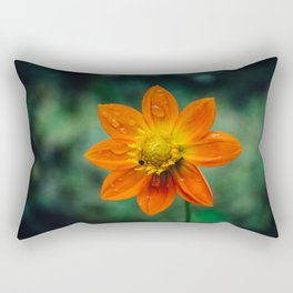 Morning dew and midday stroll Rectangular Pillow