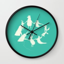 Arctic Circle Wall Clock