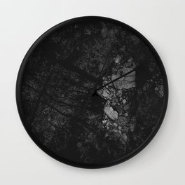 Luxury Black Marble Wall Clock