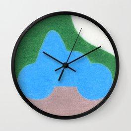 Half a Heart Wall Clock