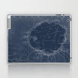 Blueprint laptop skins society6 crater lake blueprint map design laptop ipad skin malvernweather Image collections