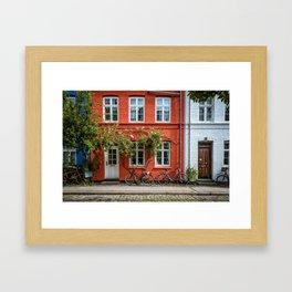 Colors of Copenhagen Framed Art Print