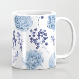 Sky Blue Roses Coffee Mug