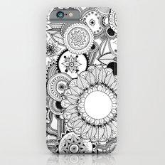 Floral Kaleidoscope  iPhone 6s Slim Case