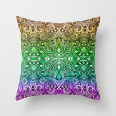 Drawing Floral Zentangle G206 Throw Pillow
