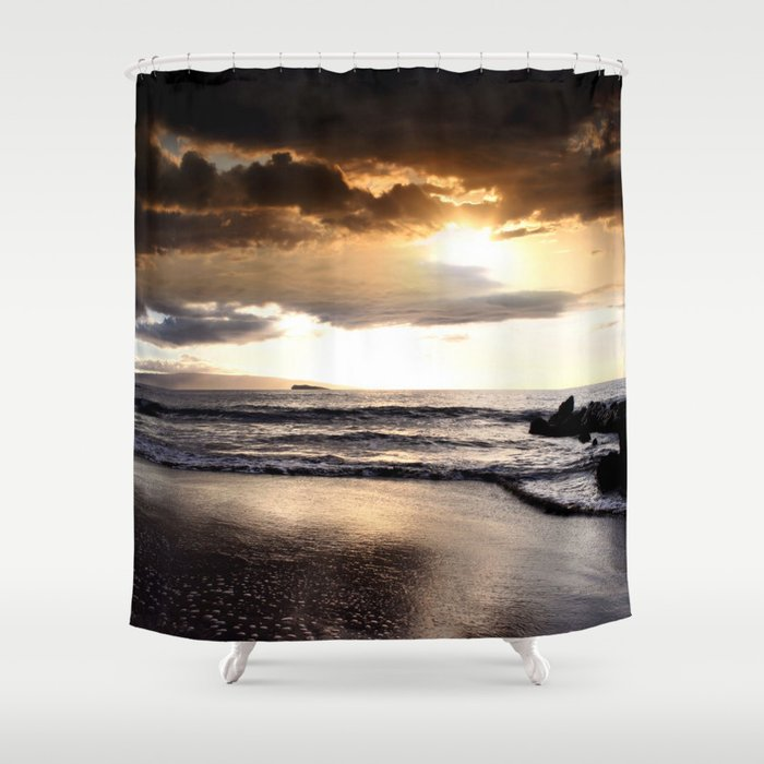 Rhythm Of The Island Shower Curtain By Sharonmau