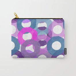 Painted Donuts One Carry-All Pouch