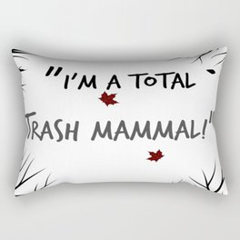 I'm a total Trash Mammal- Night In The Woods Rectangular Pillow