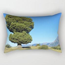 Big tree and patagonian landscape Rectangular Pillow