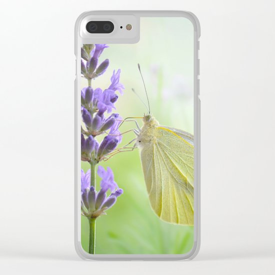 Butterfly 47 Clear iPhone Case