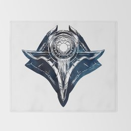 Shuriman Crest - League of Legends Throw Blanket