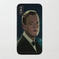 great gatsby iPhone & iPod Cases featuring The Great Gatsby by Vito Fabrizio Brugnola