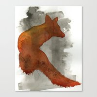 robert farkas Canvas Prints featuring Ode to Robert Farkas by Brown Paper Bunny