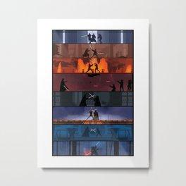 star warss Metal Print