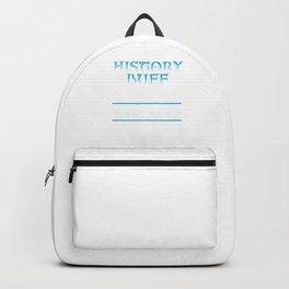 History Buff Academic Books Bookworm Archaeology Philosophy Backpack