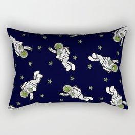 Astro Terrarium Pattern Rectangular Pillow