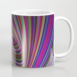 Psychedelic colors Coffee Mug