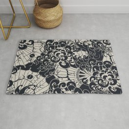 Oriental stylish illustration pattern for home decoration Rug