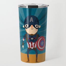 cap'n America Travel Mug