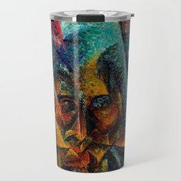 Umberto Boccioni - Testa + Luce + Ambiente Travel Mug