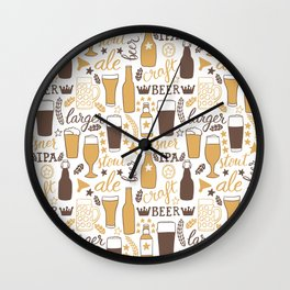 For beer lovers Wall Clock