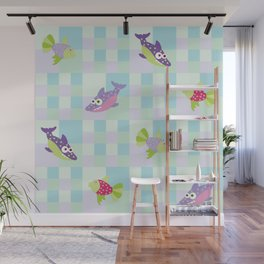Crazy Fishes Wall Mural