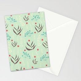 Rainy garden Stationery Cards