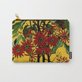 """""""WheelFlower"""" Woodcut by Margaret Preston Carry-All Pouch"""