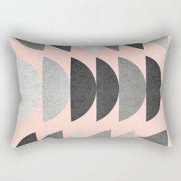 Minimalist fashion and golden II Rectangular Pillow