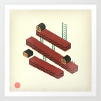 nintendo Art Prints featuring Nintendo #3 by Dabwood2