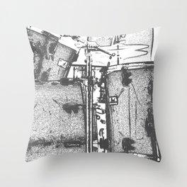 Drummin' Throw Pillow