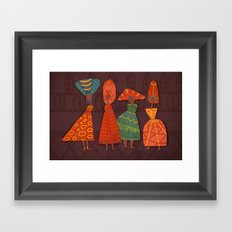 Flavours Framed Art Print