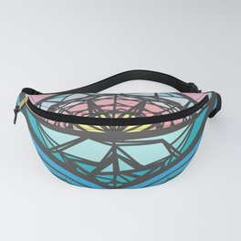 The Square of a Sunset Fanny Pack