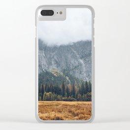 Beautiful Yosemite in Fall Clear iPhone Case