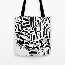 CALLIGRAPHY N°2 ZV Tote Bag