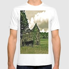 Better Days Gone By Mens Fitted Tee MEDIUM White