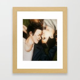 Klaine The Fault in Our Stars Framed Art Print