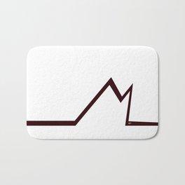 M RED LETTER #minimal #art #design #kirovair #buyart #decor #home Bath Mat