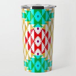 050 - traditional pattern interpretation with golden foil Travel Mug