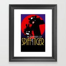 Spiff n Tiger Framed Art Print